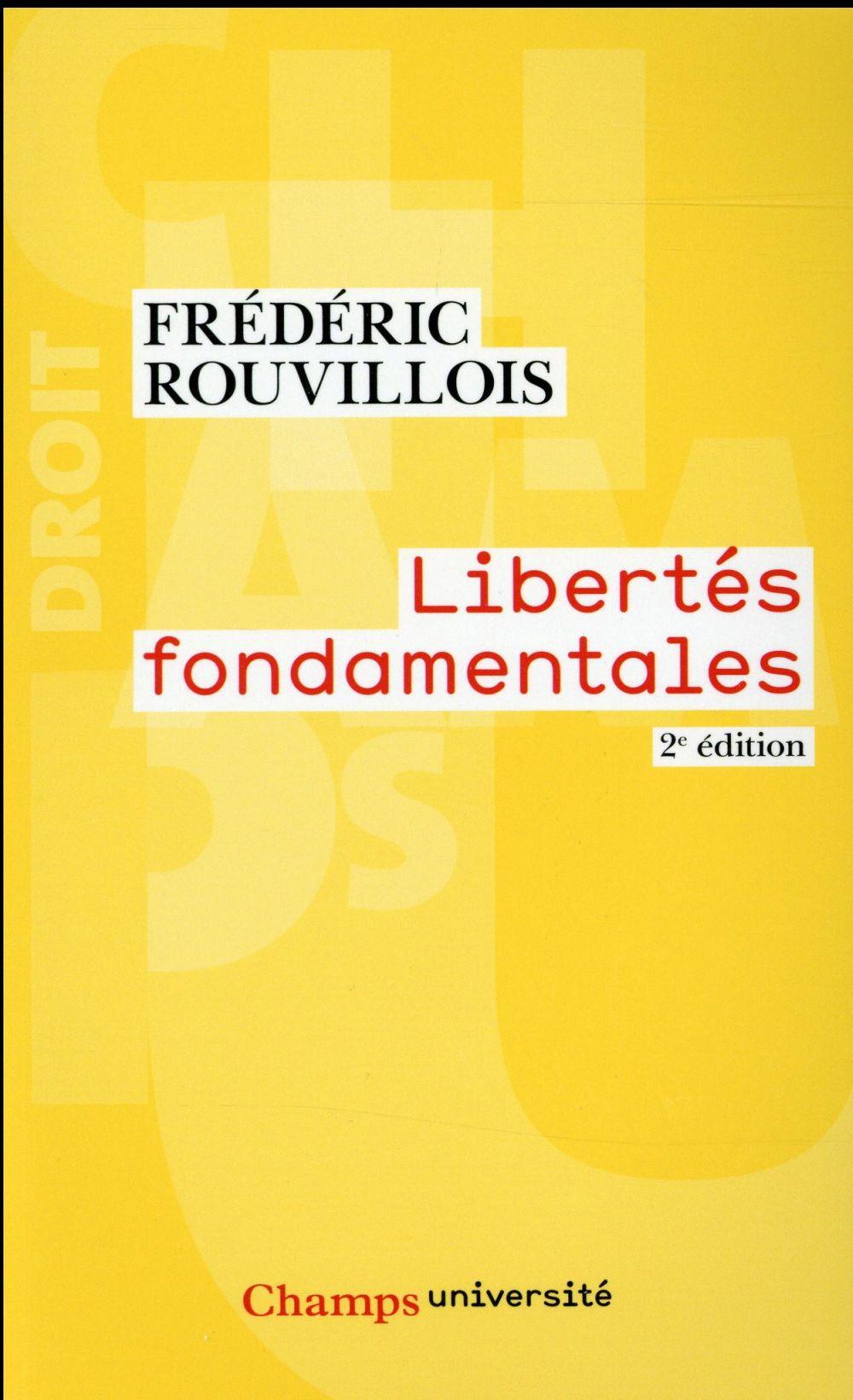 Libertés fondamentales (2e édition)