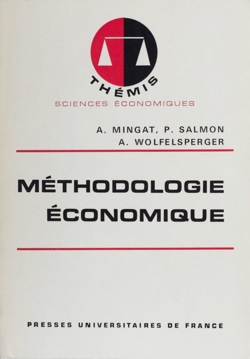 Methodologie economique