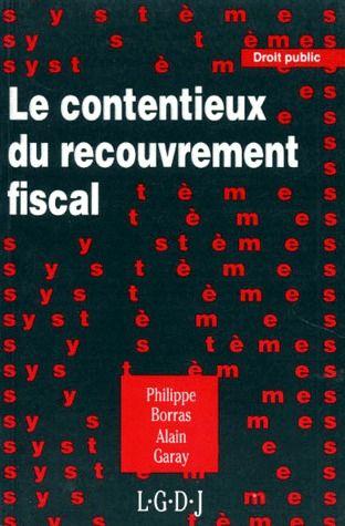 Le Contentieux Du Recouvrement Fiscal