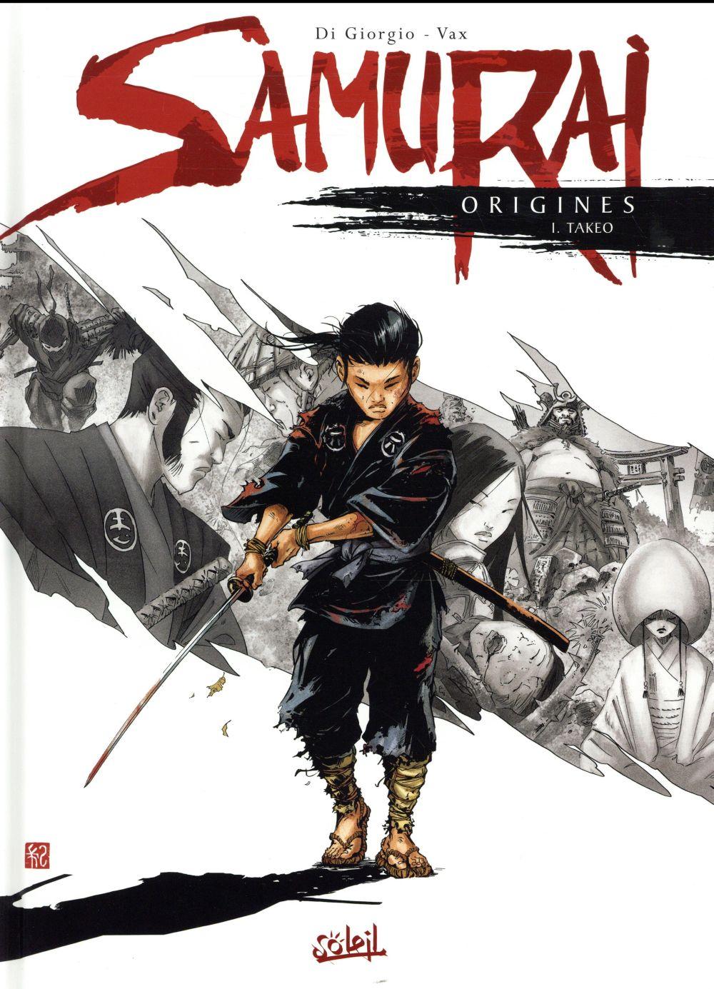 Samurai - origines T.1 ; Takeo