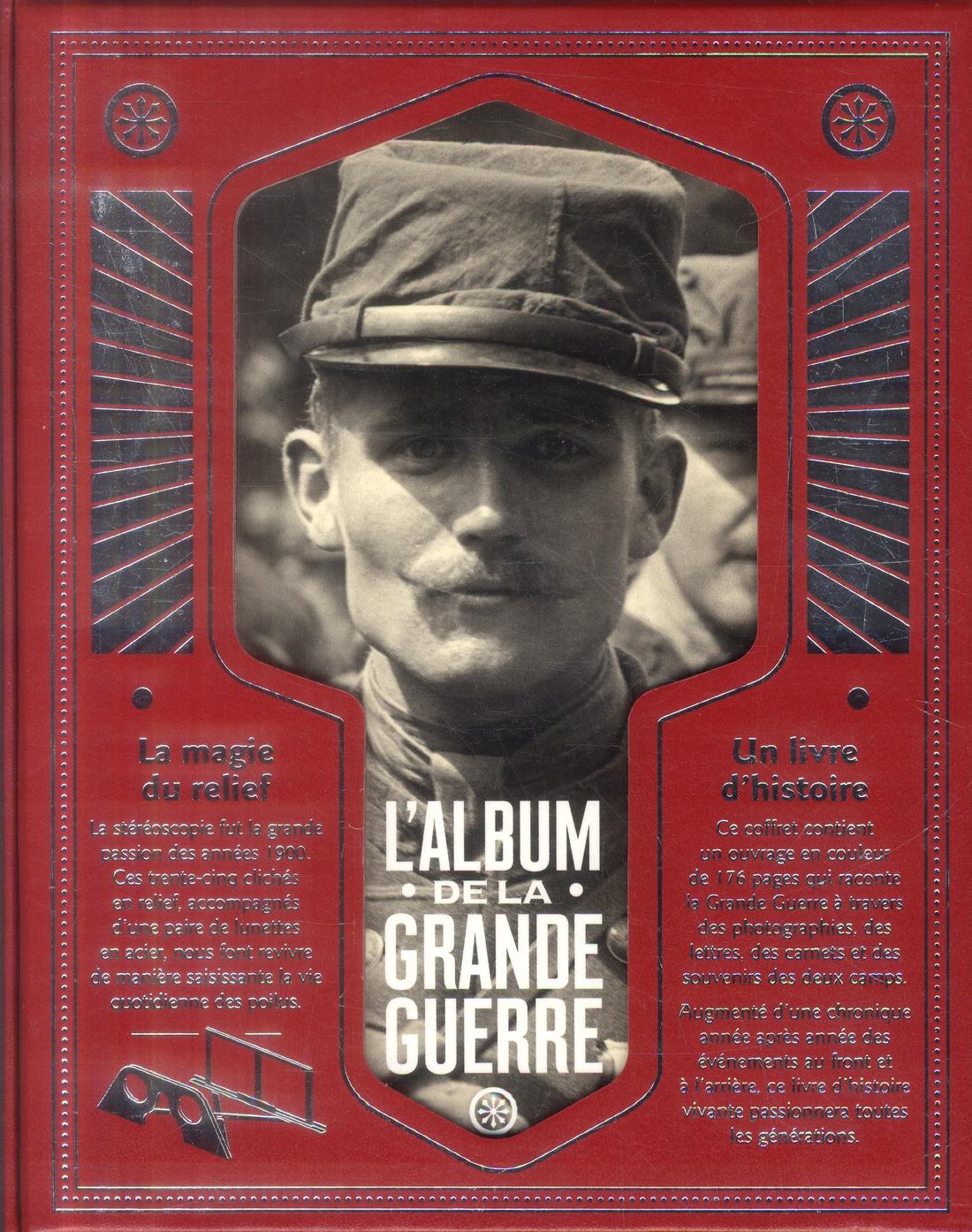 La Grande Guerre en relief ; 1914-1918