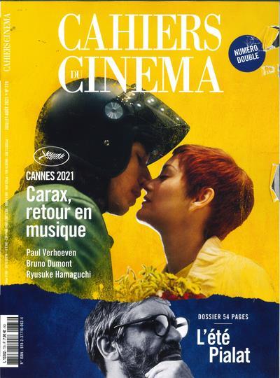 Cahiers du cinéma n.778 ; spécial Cannes 2021