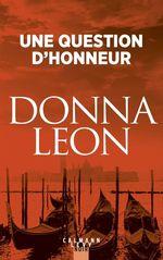 Vente Livre Numérique : Une question d'honneur  - Donna Leon