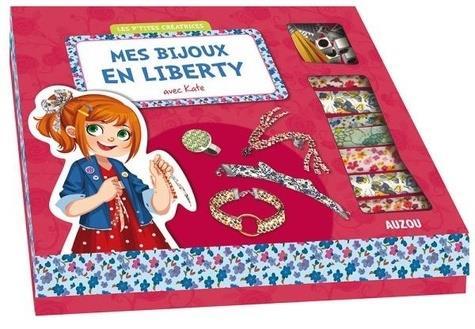 Mes bijoux en liberty avec Kate l'anglaise ; coffret