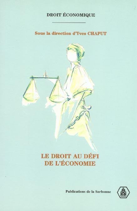 Droit au defi de l economie