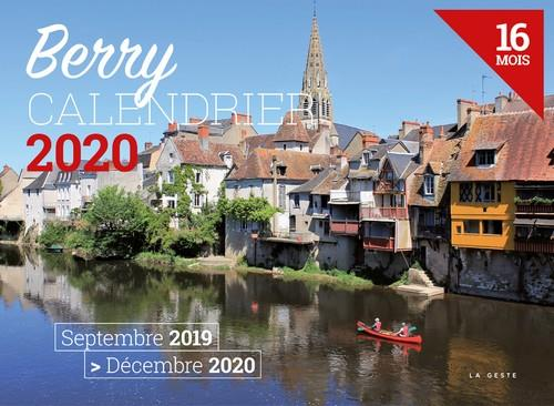 Calendrier 2020 ; Berry