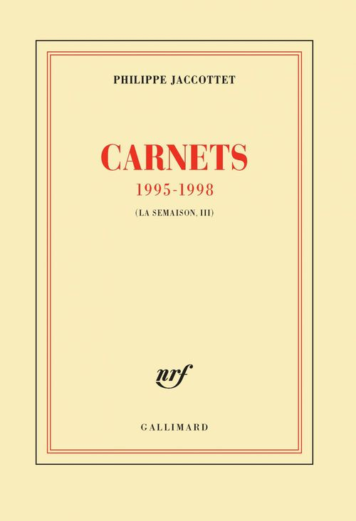 Carnets 1995-1998