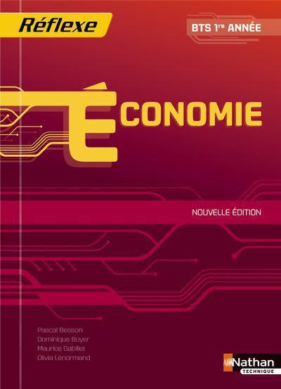 économie ; BTS ; 1re année ; livre de l'élève