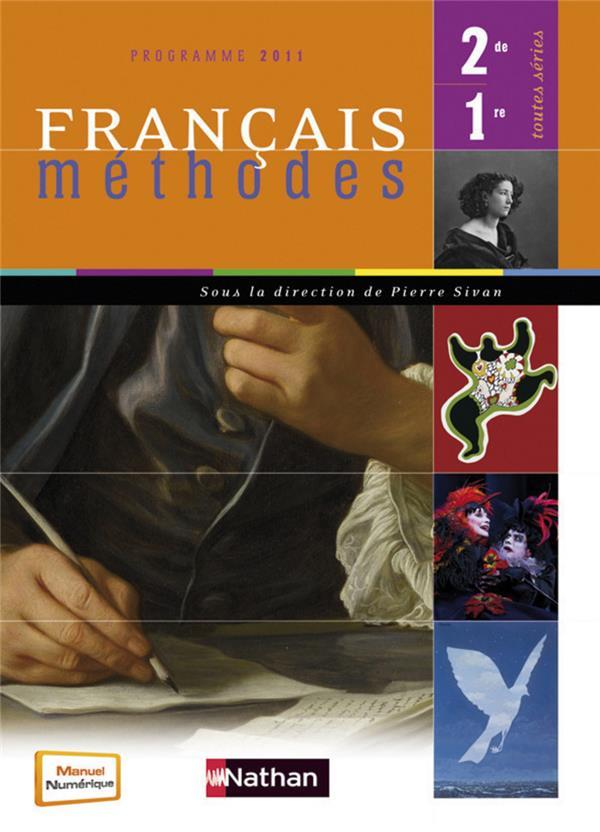 Francais ; Methodes ; 2nde, 1ere ; Manuel De L'Eleve (Edition 2011)