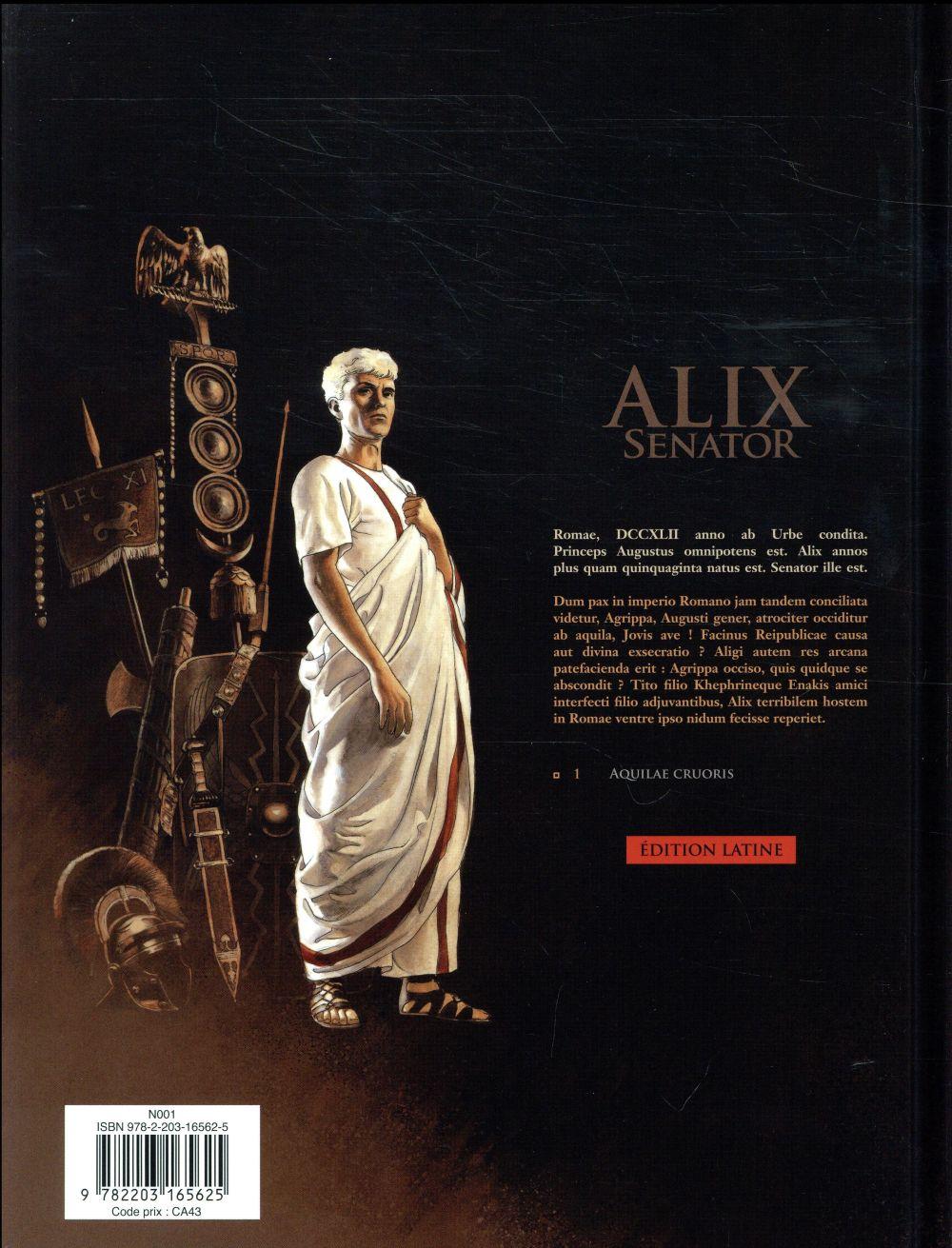Alix senator T.1 ; aquilae cruoris