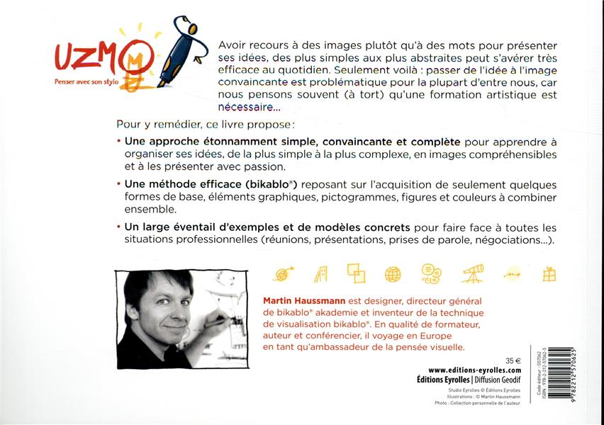 Uzmo penser avec son stylo ; présenter ses idées, convaincre et faciliter avec la pensée visuelle