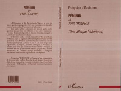 Féminin et philosophie (une allergie historique)