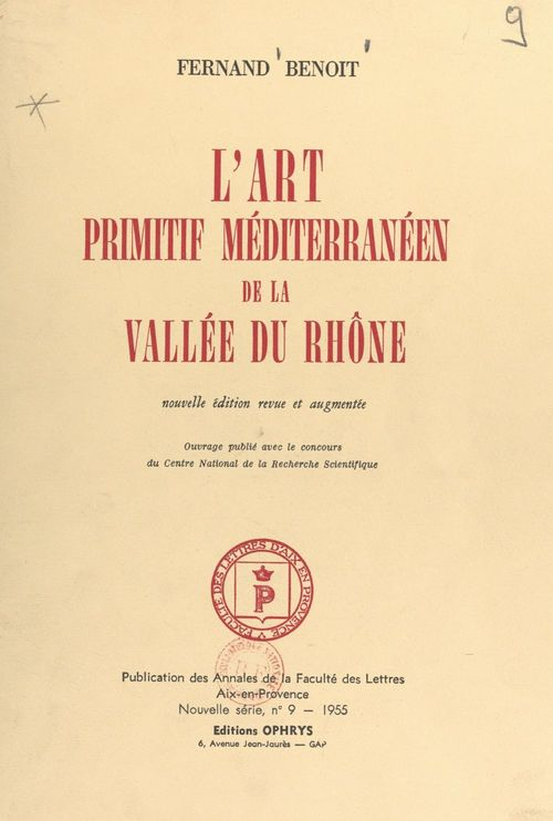 L'art primitif méditerranéen de la vallée du Rhône
