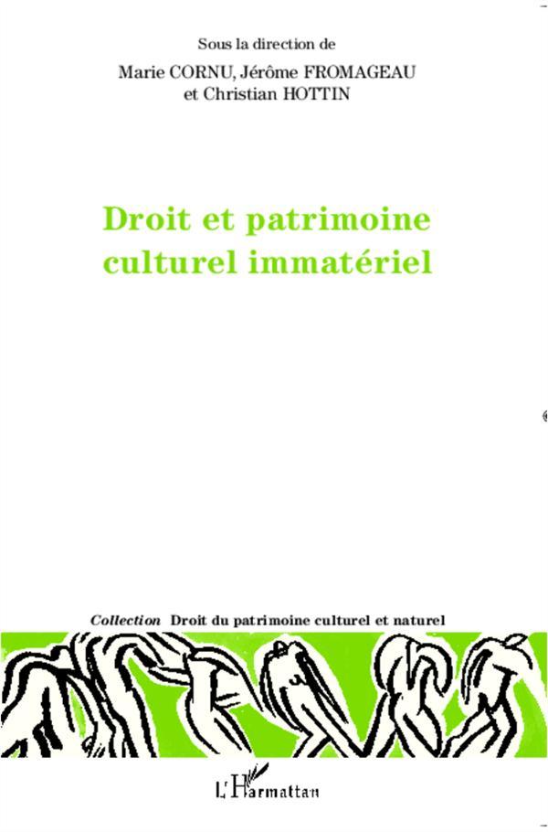 DROIT ET PATRIMOINE CULTUREL I