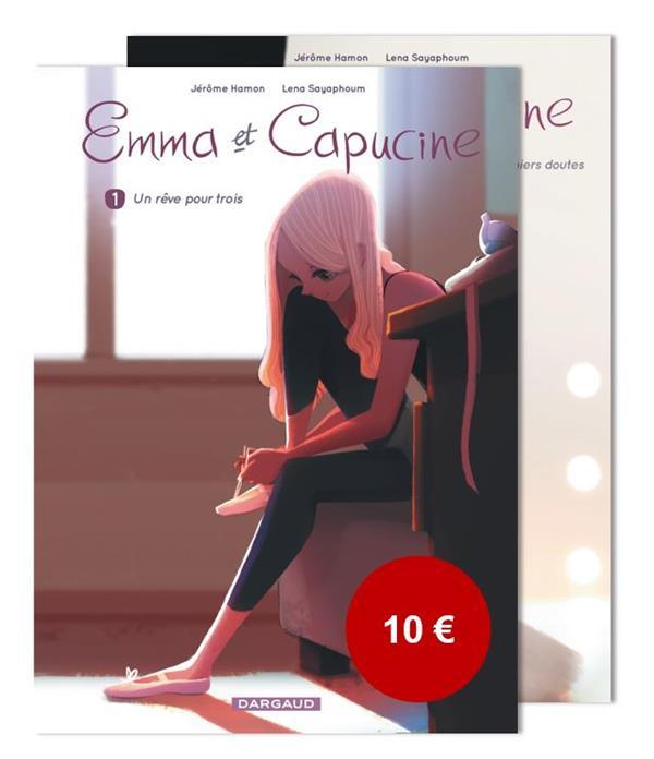 PACK EMMA ET CAPUCINE T1+T2