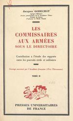 Les commissaires aux armées sous le Directoire (2)