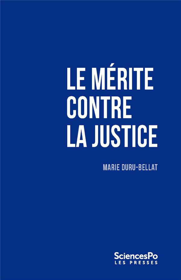 Le mérite contre la justice