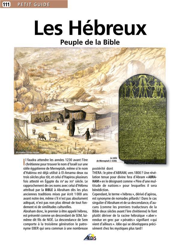 Les Hebreux, Peuple De La Bible