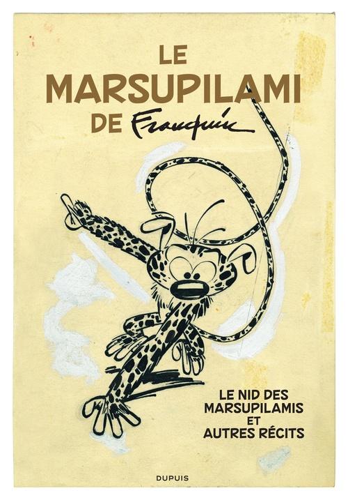 Franquin version originale t.19 ; le Marsupilami de Franquin
