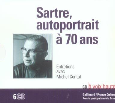 Sartre, autoportrait à 70 ans