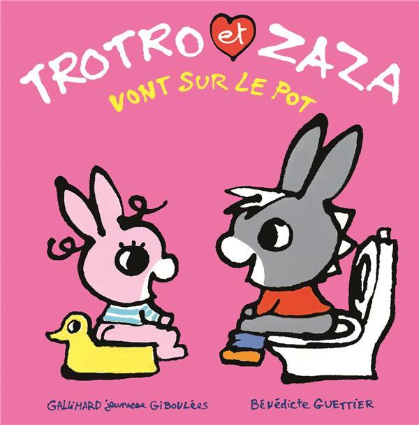 Trotro et Zaza vont sur le pot