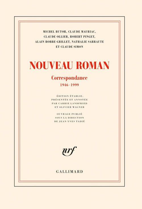 Vente EBooks : Nouveau Roman. Correspondance (1946-1999)  - collectifs