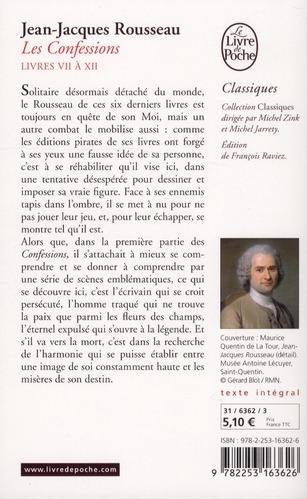Les confessions t.2 (édition 2012)