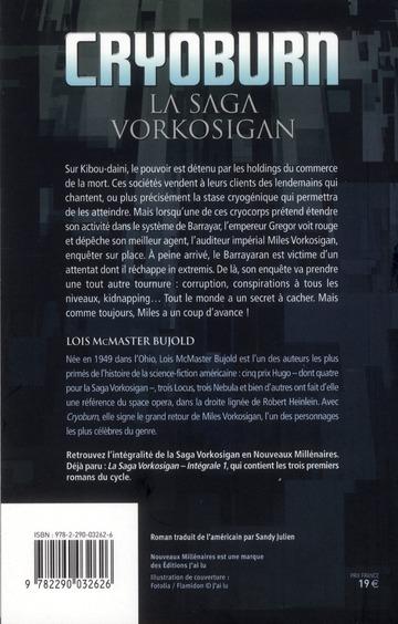 la saga Vorkosigan t.19 ; Cryoburn