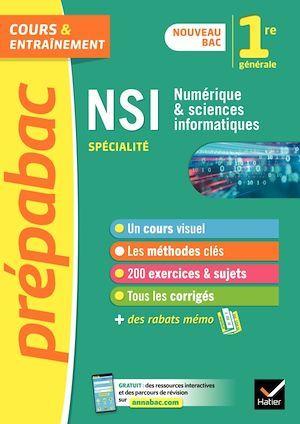 Prépabac cours & entraînement ; NSI, numérique et sciences informatiques ; 1re
