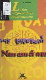 Vente Livre Numérique : Le fait religieux dans l'enseignement  - René Nouailhat