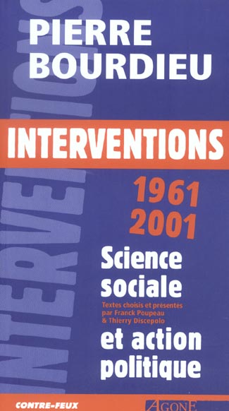 INTERVENTIONS 1961-2001