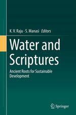 Water and Scriptures  - S. Manasi - K. V. Raju