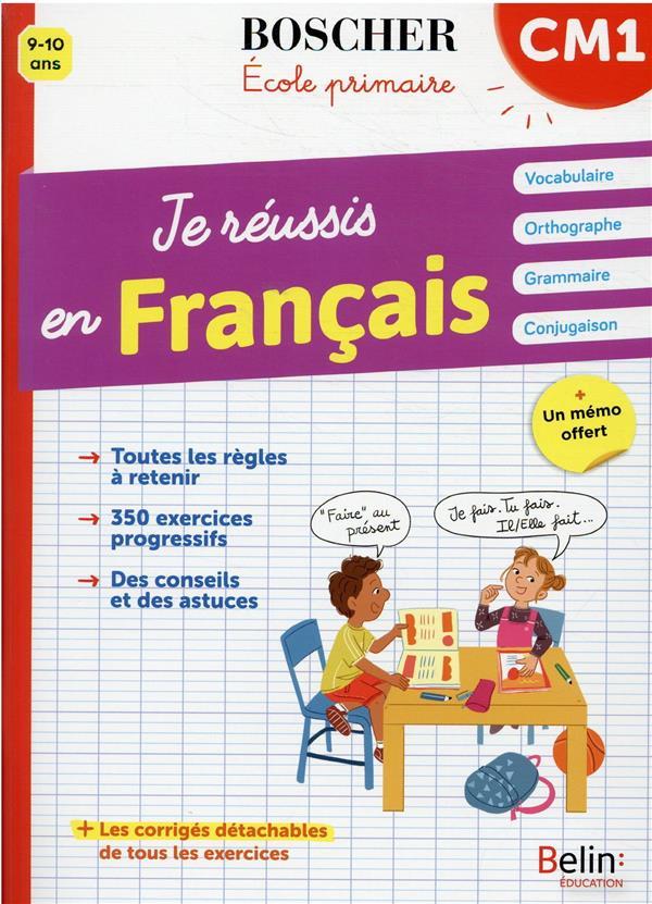 je réussis en français CM1