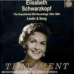 Elisabeth Schwarzkopf unpublished lieder