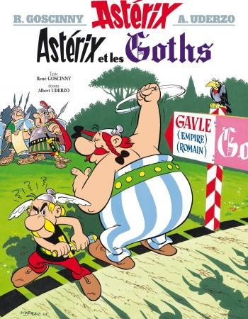 Astérix - Astérix et les Goths - n°3  - Rene Goscinny  - Albert Uderzo