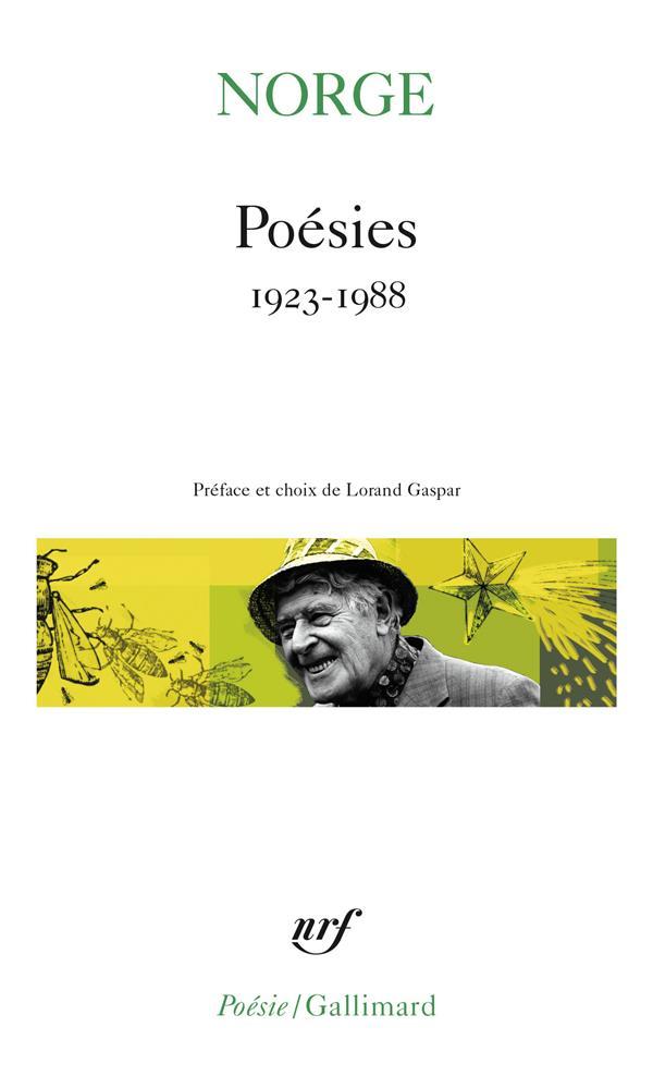 Poésies ; 1923-1988