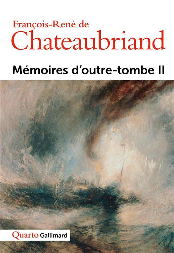 Mémoires d'outre-tombe t.2