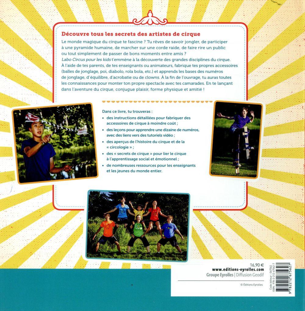 labo circus pour les kids ; jonglage, acrobaties, numéros de clown et mise en scène