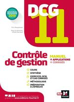 Vente EBooks : DCG 11 - Contrôle de gestion - Manuel et applications  - Alain Burlaud - Eric Margotteau