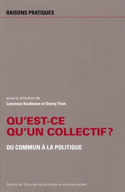 Qu'est-ce qu'un collectif ? ; du commun au politique