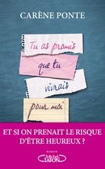Vente livre : EBooks : Tu as promis que tu vivrais pour moi  - Carene Ponte