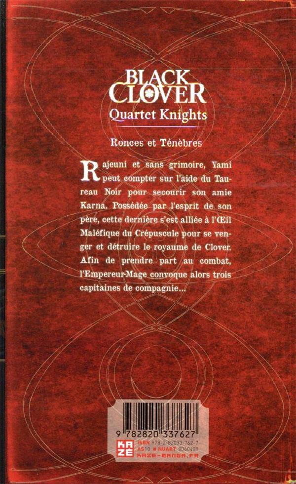 Black Clover - quartet knights T.2