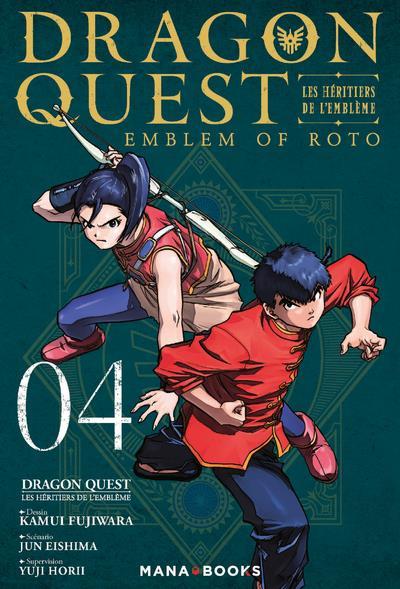dragon quest - les héritiers de l'emblème t.4