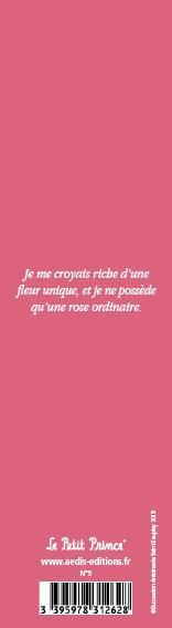 Marque-page Le Petit Prince T.9