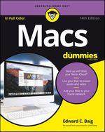 Vente Livre Numérique : Macs For Dummies  - Edward C. BAIG