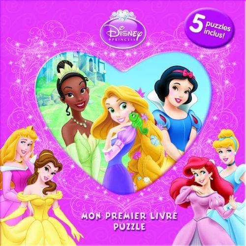 Mon Premier Livre Puzzle; Princesses Coeur