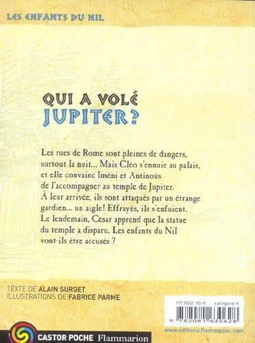 Les enfants du Nil t.5 ; qui a volé Jupiter ?