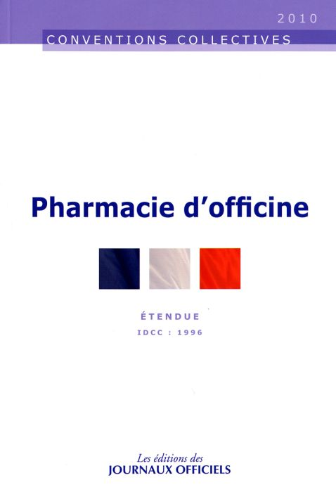 Pharmacie D'Officine ; Cc 3052