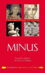 Vente EBooks : Minus  - Charles Senard - Louise de Courcel