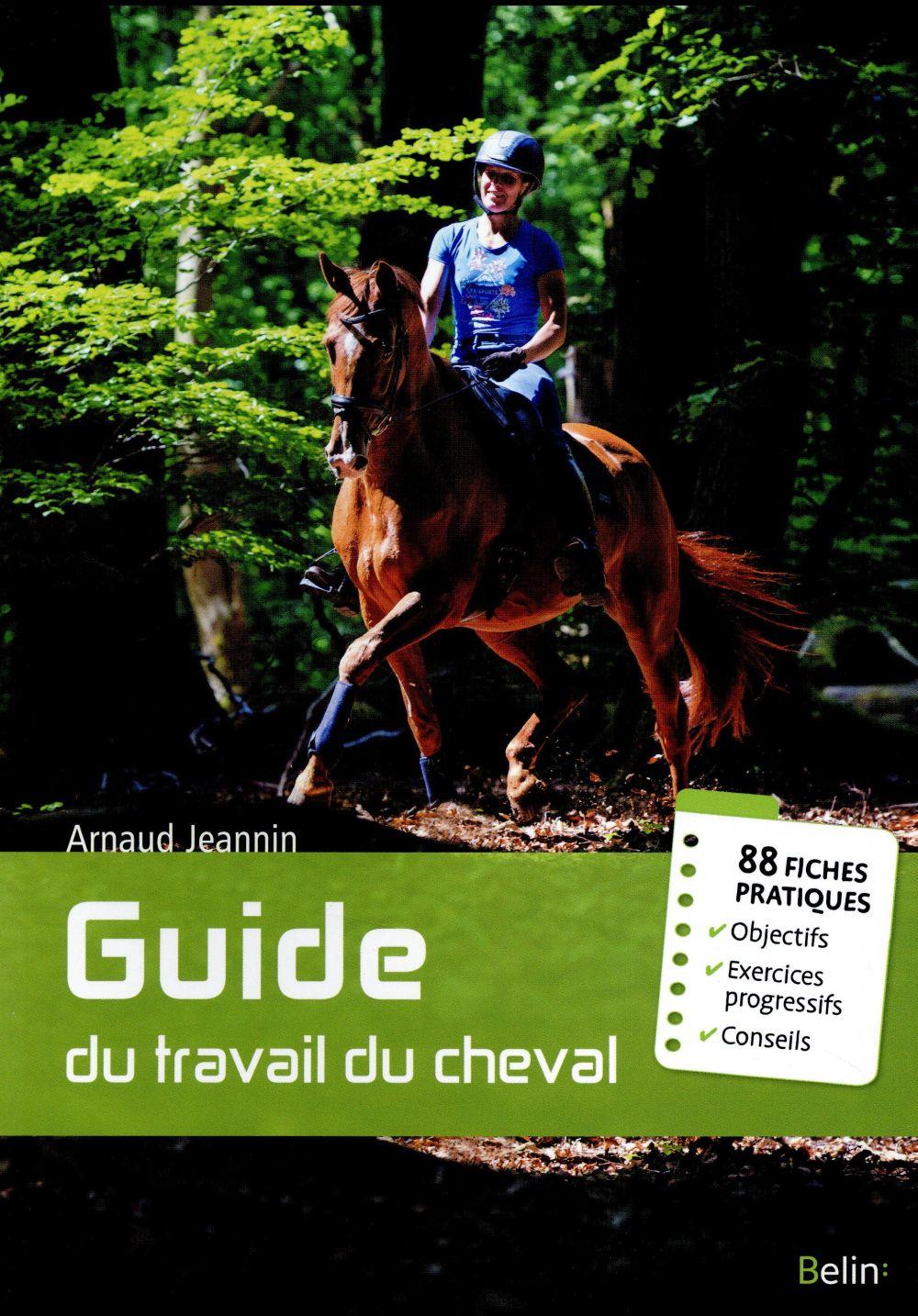 Guide du travail du cheval ; 88 fiches pratiques